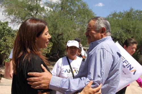 Se compromete Josefina Salazar a impulsar mayor inversión al campo