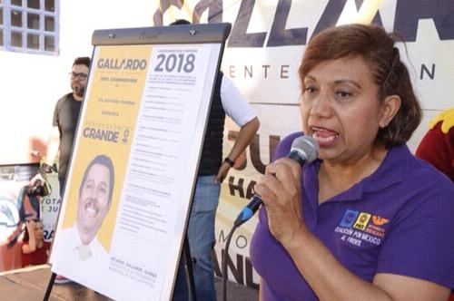 Leonor Noyola gestionará espacios deportivos en todo el estado