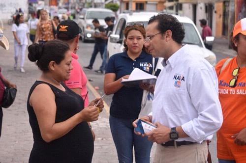 Xavier Nava propone un mejor alumbrado público para la ciudad