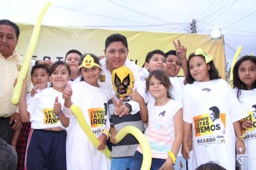 Ricardo Gallardo Cardona firmó compromisos a favor de la educación