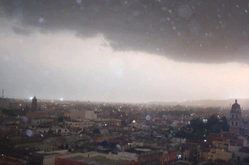 Continuarán las lluvias en SLP por el Huracán Bud