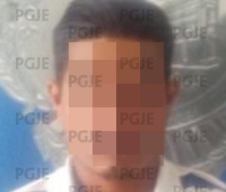 Por presuntamente agredir a su esposa, PGJE detuvo a un hombre en Mexquitic de Carmona.