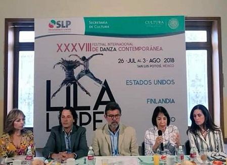 """Presentan XXXVIII Festival Internacional de Danza Contemporánea """"Lila López""""."""