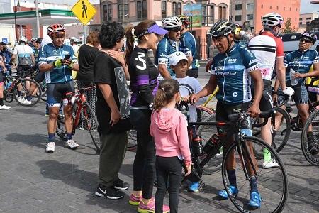Exitosa carrera ciclista internacional del fin de semana.