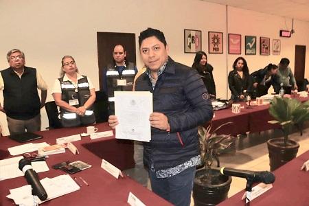 Recibe Ricardo Gallardo Cardona, constancia de mayoría como Diputado Federal del II Distrito
