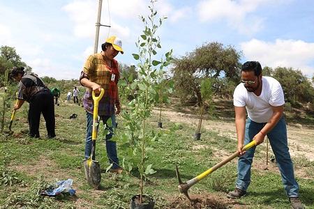 Ayuntamiento capitalino plantará pulmón ecológico en Villa de Pozos.