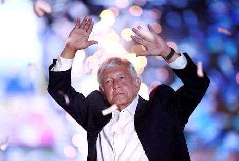 Arrasa López Obrador en elección presidencial