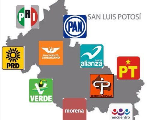 PRI y PAN seguirán gobernando el mayor número de municipios en SLP