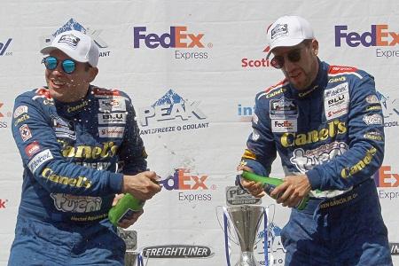 Rumbo a Querétaro Rubén García Jr. mantiene liderato NASCAR, Héctor Aguirre ya es 6°