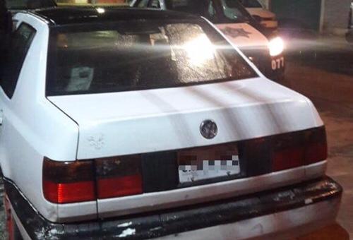 Municipales de Soledad recuperaron vehículo con reporte de robo