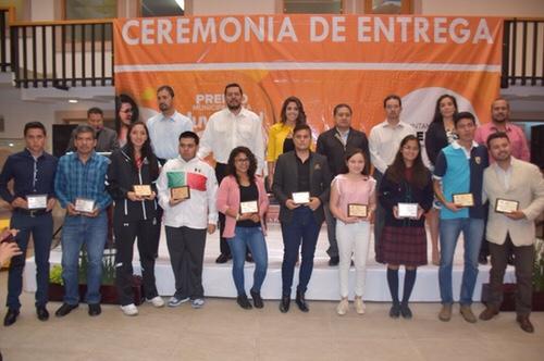Ayuntamiento de Soledad, entregó el Premio Municipal de la Juventud 2018