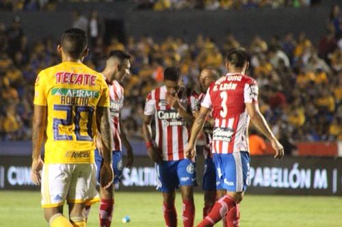 Atlético de San Luis perdió el invicto en la Copa MX, al caer ante Tigres en el Volcán