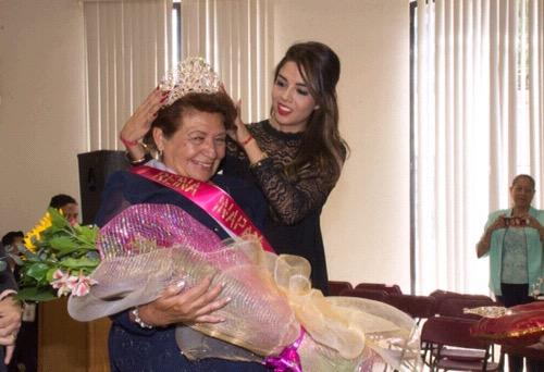 Alicia Herrera Castillo, es la Reina de la Tercera Edad en Soledad