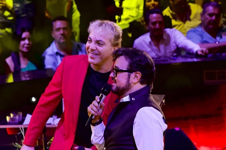 Aleks Sintek y Cristian Castro, ofrecieron espectacular noche en el Palenque de la Fenapo