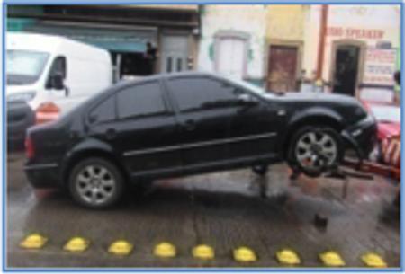 Policías Metropolitanos recuperan vehículos con reporte de robo