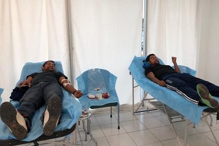 Se sumó Olimed a las campañas de donación altruista de sangre, de la Secretaría de Salud