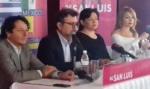 Presentan la edición 18 del Festival San Luis
