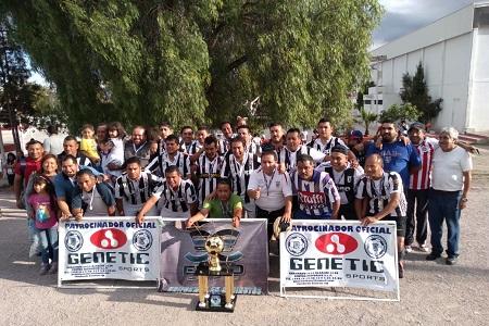 Real Caman nuevo campeón y ascenso en la categoría Veteranos de la Liga Central