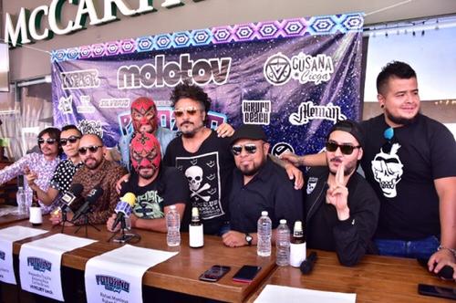 "Presentaron oficialmente el ""Potosino Music Fest 2018"""