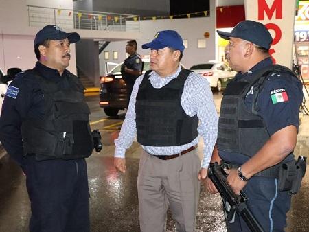 Alcalde de Soledad supervisa personalmente operativos policiacos