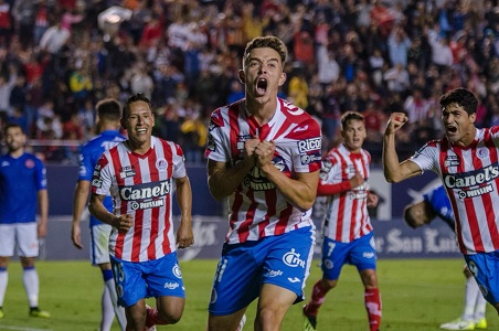 El Atlético de San Luis se impuso 1-0 a los Correcaminos de la UAT