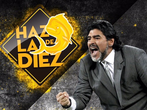 Maradona dirigirá a los Dorados de Sinaloa del Ascenso Mx