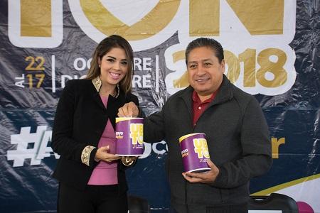 DIF de Soledad, inició la colecta anual del UBRton