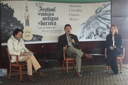 """Presentan el XXI Festival de Música Antigua y Barroca """"Los Fundadores"""""""