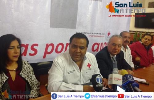 Superó Cruz Roja la meta de su colecta anual en SLP
