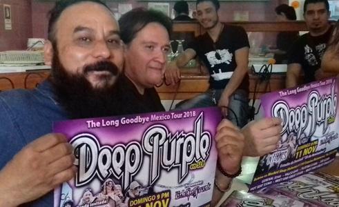 Deep Purple visitará SLP en su gira de despedida