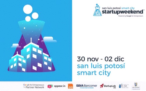 Realizarán en SLP el Startup Weekend