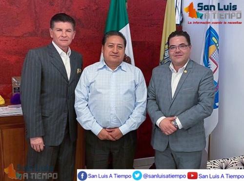 Ayuntamiento de Soledad, dispuesto a trabajar con el sector inmobiliario: Hernández Villafuerte