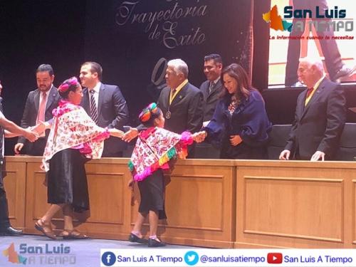 Debe haber reconocimiento y respaldo a potosinos exitosos: Sonia Mendoza  [Video]
