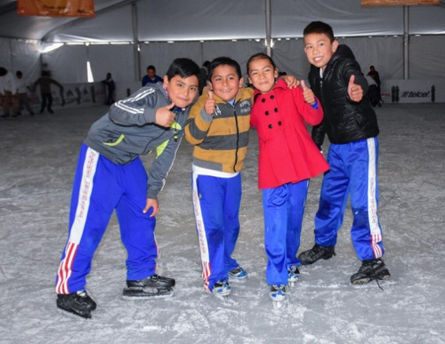 A partir de este viernes, pista de hielo gratis en Soledad