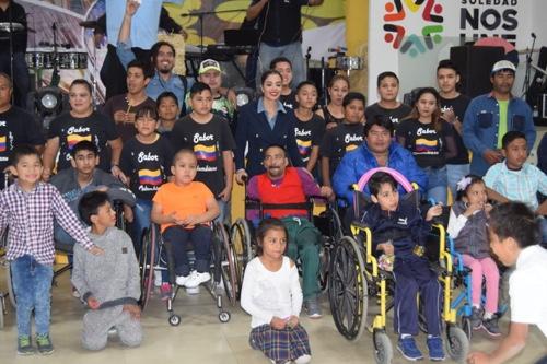 Con inclusión, apoyo y respeto, valoramos a personas con discapacidad: Ruth González