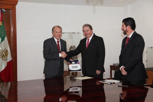 Recibió el Gobernador JM Carreras el informe de actividades de la Fiscalía General del Estado