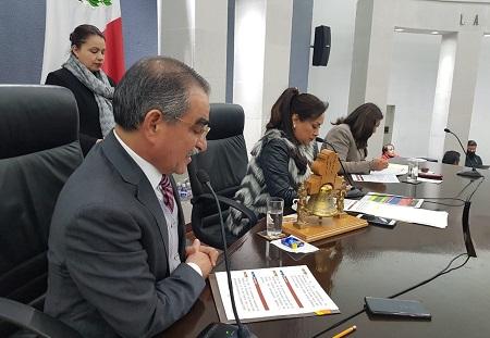 Recibe la Diputación Permanente diversas iniciativas turnadas a comisiones para su análisis y dictamen