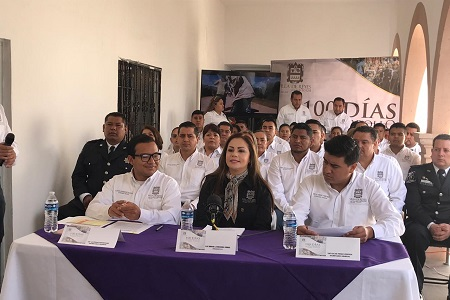 100 días de desarrollo en Villa de Reyes: Erika Briones