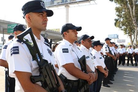 Elementos de Seguridad Pública Municipal, cumplen con los exámenes de control y confianza