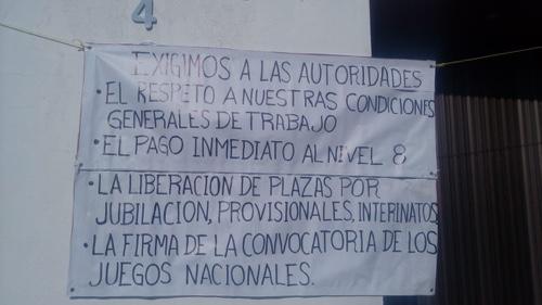 Trabajadores de SEMARNAT se declaran en paro indefinido