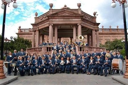 La Banda de Música del Estado y sus presentaciones en Plaza de Armas, una tradición de SLP