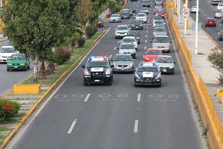 Firme, Operativo Carrusel en principales vialidades de la Ciudad