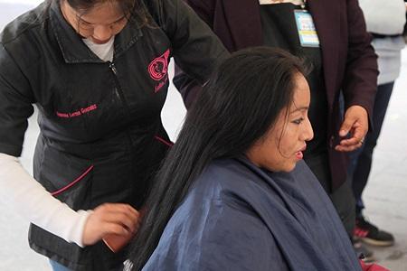 """Inició la campaña """"Cadena de Amor"""", para donar cabello para realizar pelucas oncológicas"""