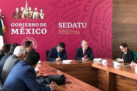 JM Carreras se reunió con titulares de Sedena y Sedatu