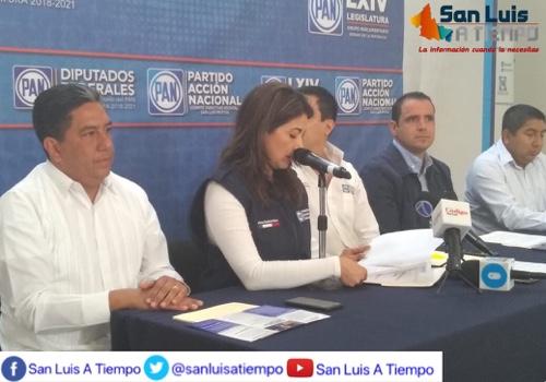 Legisladores federales del PAN presentaron su Agenda Legislativa
