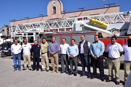 Ayuntamiento de Soledad, reconoce labor de los Bomberos al realizar importante donación
