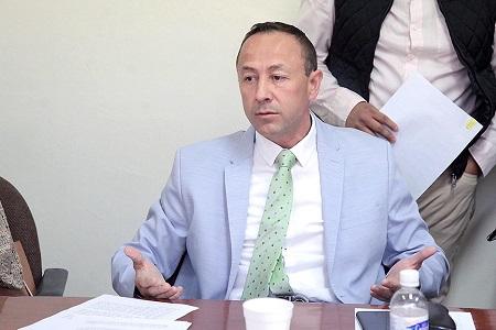 Pide diputado Edgardo Hernández, dar entrada a juicio político contra Secretario de Seguridad