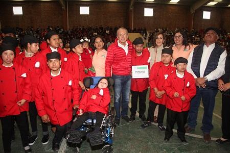 Impulsa Gobernador desarrollo educativo, científico y recreativo en el Altiplano