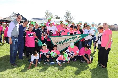 Inauguró Nava Palacios la XIV Olimpiada Atlética Especial