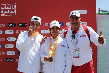 Potosinos siguen sumando medallas en Abu Dhabi